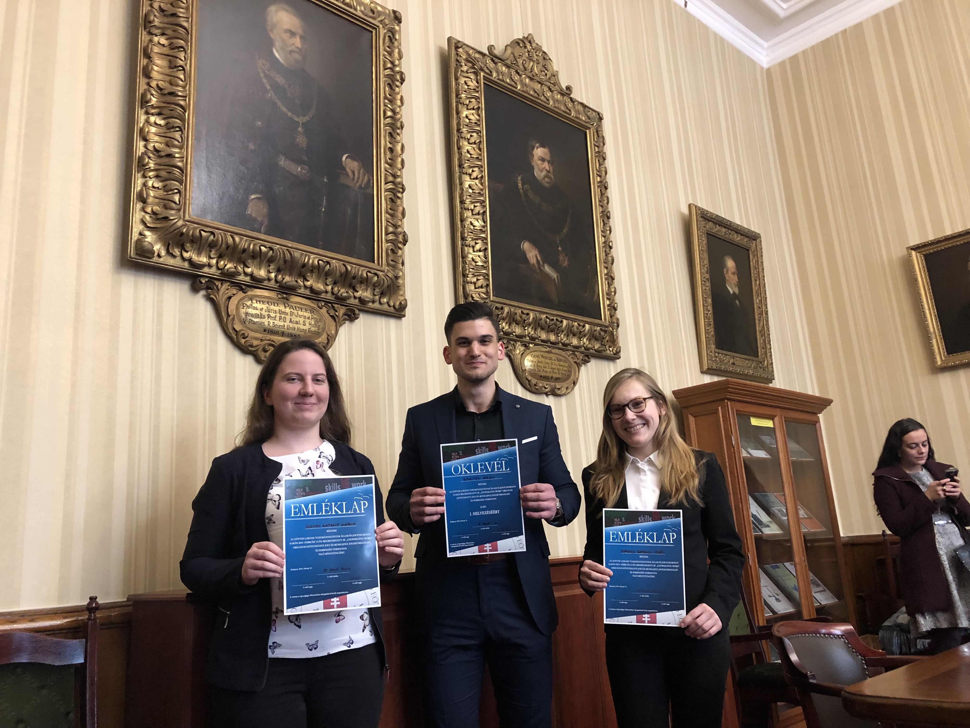 Siker az Országos Szövetkezeti Jogi és Munkajogi Jogesetmegoldó és perbeszéd versenyen