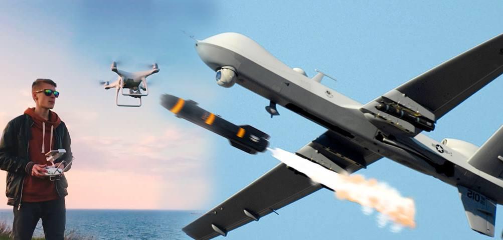 U A V - a drónok polgári és katonai alkalmazásának kérdései
