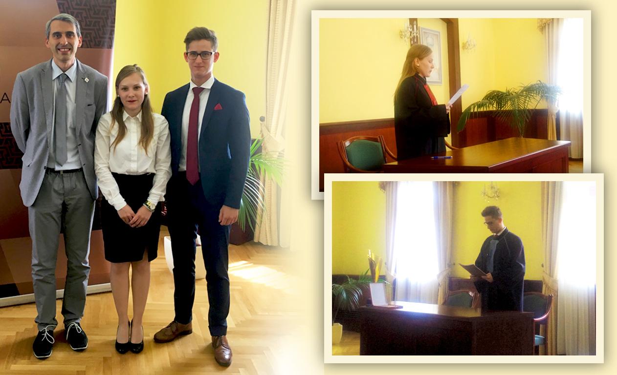 Győri sikerek az Országos Büntetőjogi Perbeszédversenyen